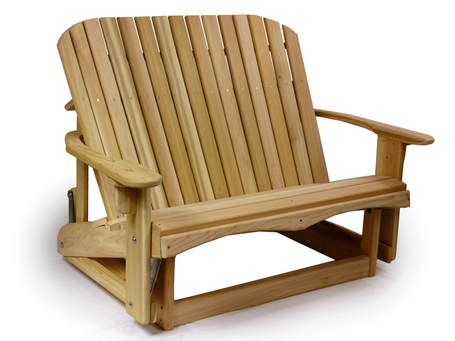 Adirondack Loveseat Glider Ozark Mountain Furniture